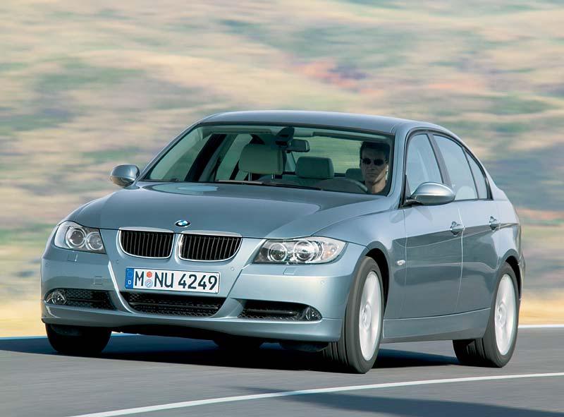 Der neue 3er-BMW (Modell E90), hier der 320d