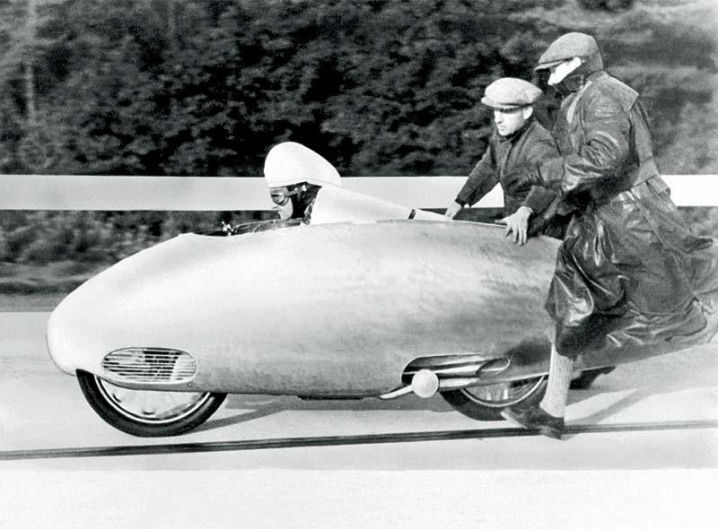 Stationen einer Entwicklung, 1937: Ernst Henne und sein ewiger Rekord - 279,5 km/h