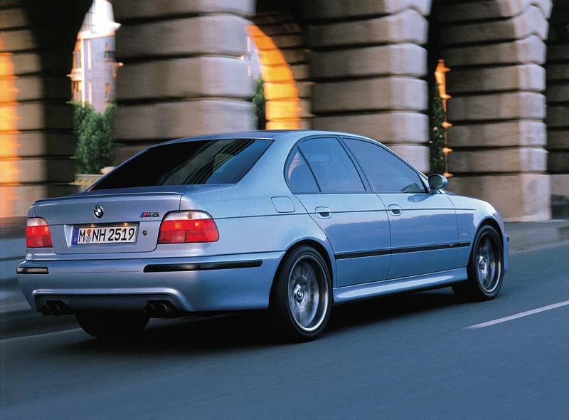 BMW M5 der dritten Generation mit 400 PS