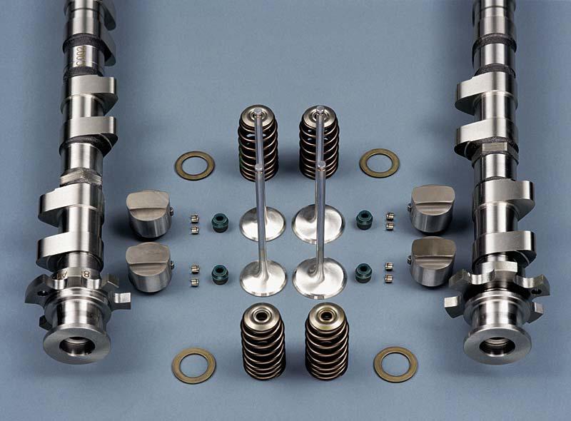 BMW V10 - Ventiltrieb-Einzelteile