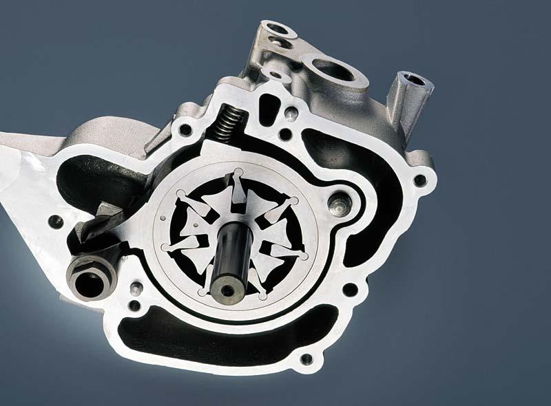 Motordruck-Ölpumpe (maximales Fördervolumen)