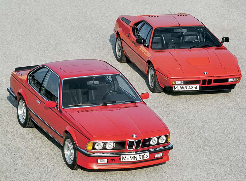 BMW M635 CSi links / BMW M1