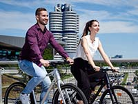BMW Group unterstützt Fahrradmobilität