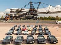 Drittes BMW 7er-Treffen an der Ferropolis