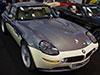 BMWs auf der Essen Motor Show 2010, darunter ein rarer BMW 750Li L7 (E38) und ein BMW Z8 Individual