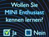 Die neue MINI App Connect Us findet den passenden Partner für prickelnde Dates.
