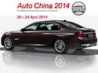 BMW auf der 13. Beijing International Automotive Exhibition 2014.