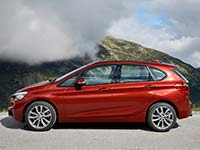 BMW 218d Active Tourer (F45): Galerie on location in S�lden (�sterreich)
