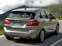 BMW 225i Active Tourer (F45): Galerie on location in S�lden (�sterreich)