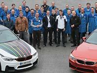 Der DTM-Champion auf Tour: Marco Wittmann im BMW Group Werk M�nchen.