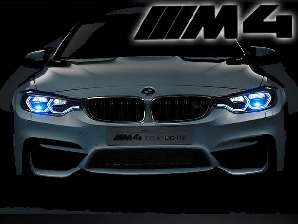 BMW M4 Concept Iconic Lights - die helle Freude am Fahren.