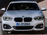 BMW 1er (F20, F21) Facelift 2015. Das Design: Unverkennbar sportlich.