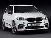 BMW M Performance Parts f�r den BMW X5 M und BMW X6 M.