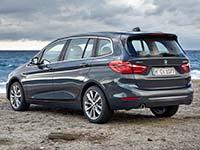 Der neue BMW 2er Gran Tourer (F46, ab Juni 2015).