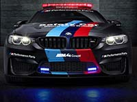 BMW M4 MotoGP Safety Car: mehr Power dank innovativer Wassereinspritzung.