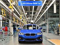 Doppelter Grund zur Freude: Schon zwei Millionen BMW 1er produziert