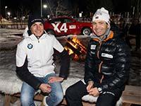 BMW pr�sentiert die IBU Weltmeisterschaften Biathlon.
