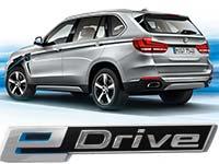 Der BMW X5 xDrive40e.