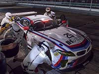BMW Team RLL verpasst Podium in Sebring knapp