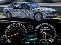 Technologie- und Innovations-Workshop zur neuen BMW 7er Reihe. PreDrive Miramas