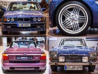 BMW auf der Techno Classica 2015, Exponate. Teil 4: Alpina B12 (E32) bis Glas 3000 V8