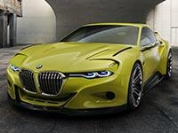 BMW 3.0 CSL Hommage. Rennsport mit elegantem Charakter.