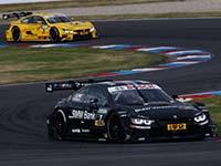 Drei BMW M4 DTM fahren im ersten Qualifying auf dem Lausitzring in die Top-Ten.