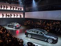 Präsentation der neuen BMW 7er Reihe, München, BMW Welt, 10. Juni 2015.