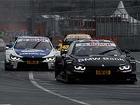 Vier BMW M4 DTM punkten auf dem Norisring - Spengler als F�nfter bestplatzierter BMW Fahrer bei Regen.