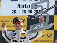 Spengler erk�mpft ersten Podestplatz der DTM-Saison f�r BMW Motorsport - 3. Rang auf dem Norisring.