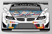 BMW Teams in Spa mit zwei besonderen Fahrzeug-Designs