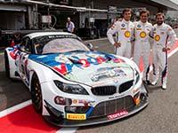 24h Rennen in Spa: F�nf BMW beim Kampf um die Superpole im Einsatz