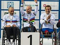 Alessandro Zanardi gewinnt erneut Staffelgold bei der UCI Para-cycling Road World Championship.