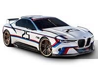 BMW 3.0 CSL Hommage R. Die perfekte Einheit von Fahrer und Fahrzeug.
