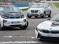 BMW als Offizieller Fahrzeugpartner in der FIA Formel E Meisterschaft 2015/2016.
