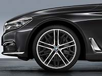 Neuer BMW 7er: sportliche Akzente mit BMW M Performance Parts.�