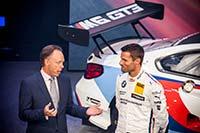 Kraftvoller Auftritt: BMW pr�sentiert den BMW M6 GT3 auf der IAA 2015 in Frankfurt