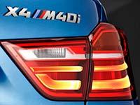 Der neue BMW X4 M40i.