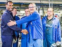 BMW Group unterst�tzt 500 Fl�chtlinge bei der sozialen und beruflichen Integration.