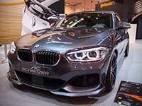 AC Schnitzer auf der Essen Motor Show 2015 mit dem X6 Falcon, ACS1 5.0d, ACS3 3.0i und MINI JCW