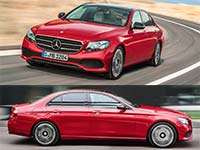 Daran wird sich der 5er-BMW messen m�ssen: die neue Mercedes E-Klasse (W213)