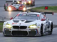 BMW M6 GTLM und BMW M6 GT3 meistern beim ersten Renneinsatz die Herausforderung Daytona.