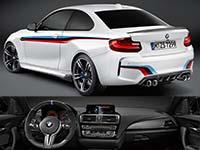 BMW pr�sentiert umfangreiches Sortiment an BMW M Performance Zubeh�r f�r das neue BMW M2 Coup�.