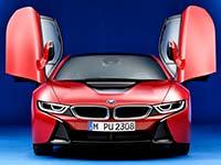 BMW i8 weltweit bestverkaufter Hybrid-Sportwagen / BMW i pr�sentiert das Editionsmodell BMW i8 Protonic Red Edition.