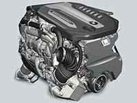 Premiere in der BMW 7er Reihe: Der weltweit st�rkste Sechszylinder-Dieselmotor.