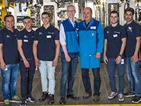 Berliner Starthilfe: BMW Group Werk Berlin unterst�tzt soziale und berufliche Integration von Fl�chtlingen.