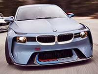 BMW 2002 Hommage. 50 Jahre pure Freude am Fahren.