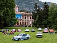 Die Hommage-Fahrzeuge der BMW Group erstmals gemeinsam auf dem Concorso dEleganza Villa d�Este 2016