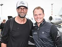 BMW International Open: Spontaner Fu�ball-Smalltalk mit J�rgen Klopp.