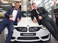 BMW erh�lt Ehrenpreis f�r sein Sport-Engagement.